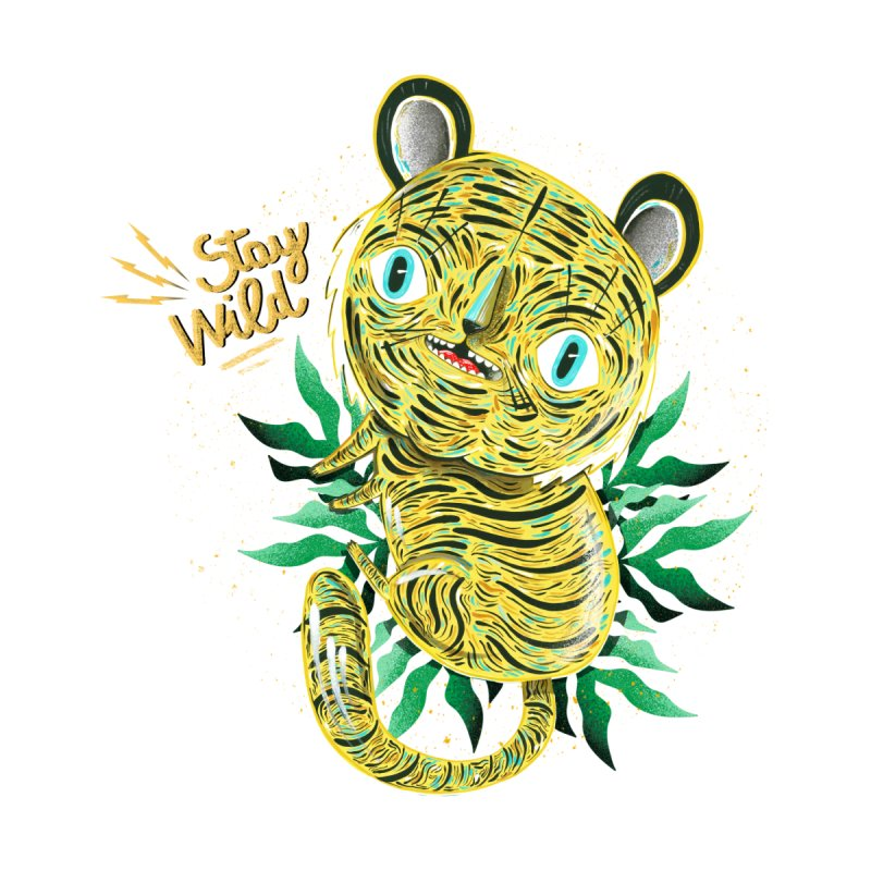 Stay wild Accessories Mug by Valentina Zummo
