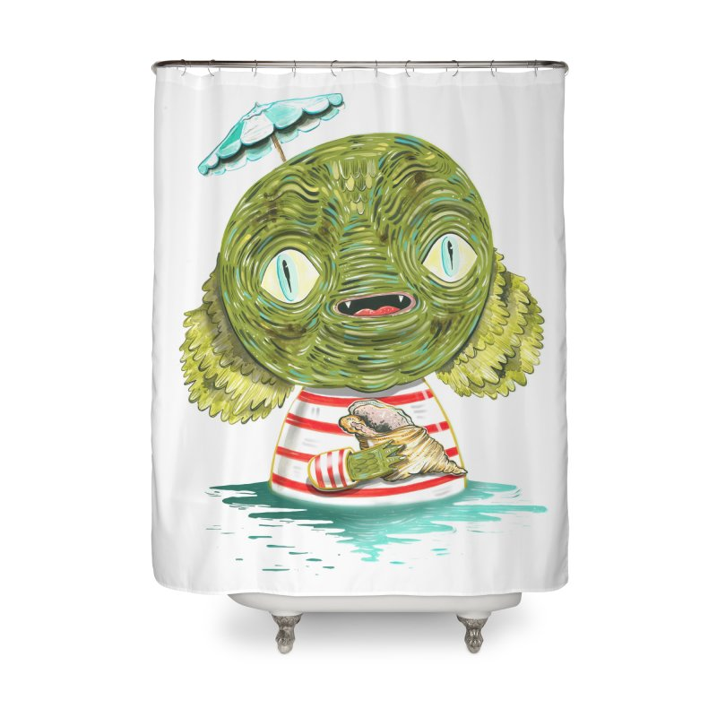 I'll protect you Home Shower Curtain by Valentina Zummo