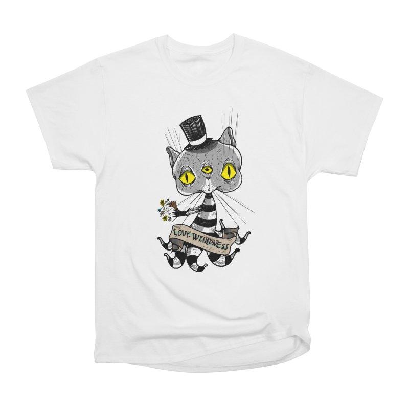 Love Weirdness Men's Heavyweight T-Shirt by Valentina Zummo
