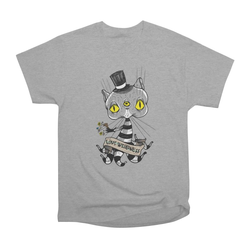 Love Weirdness Women's Heavyweight Unisex T-Shirt by Valentina Zummo