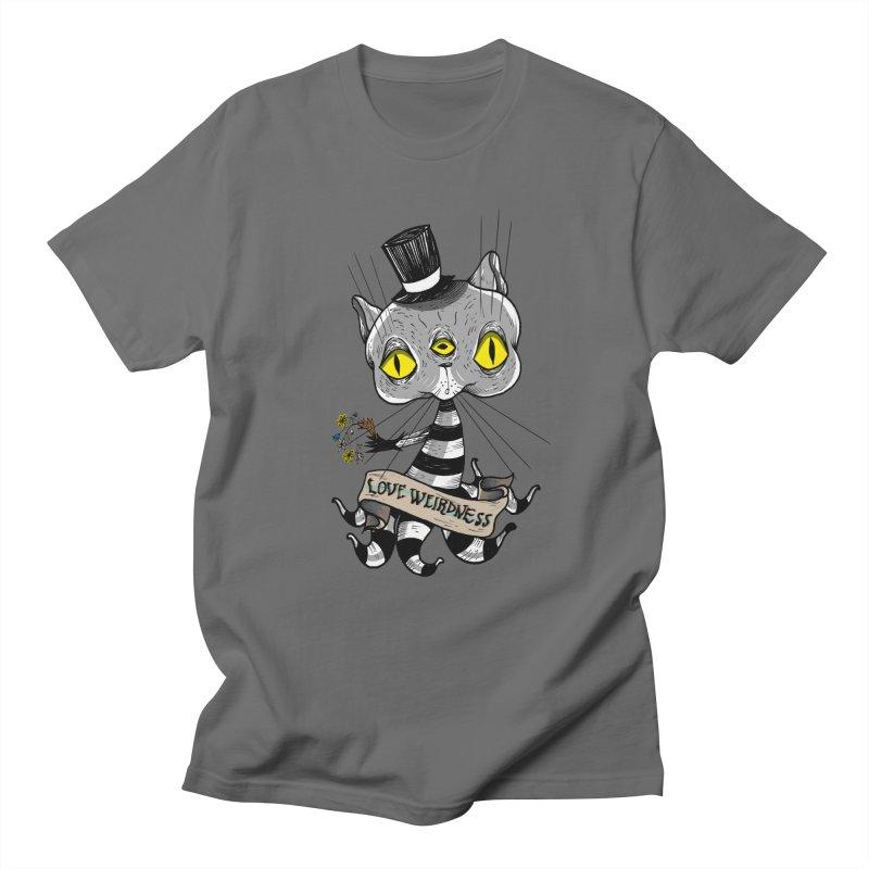 Love Weirdness Men's T-Shirt by Valentina Zummo