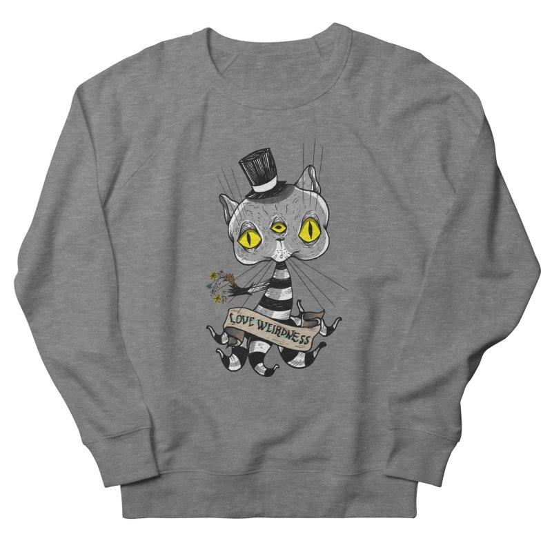 Love Weirdness Women's French Terry Sweatshirt by Valentina Zummo