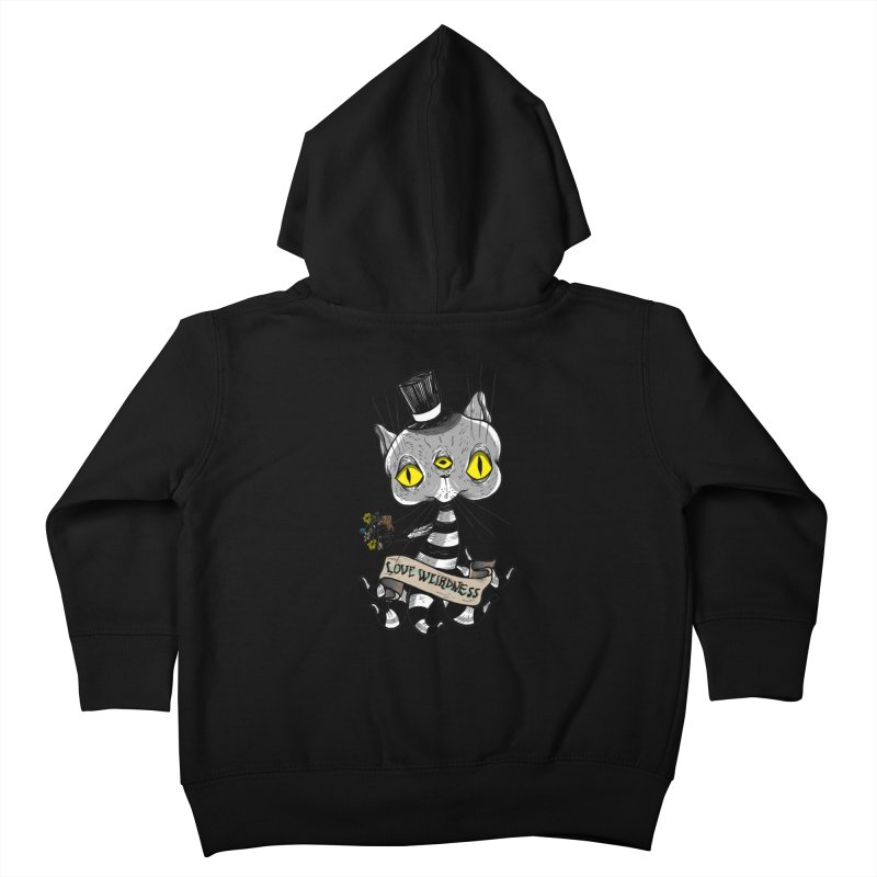 Love Weirdness Kids Toddler Zip-Up Hoody by Valentina Zummo
