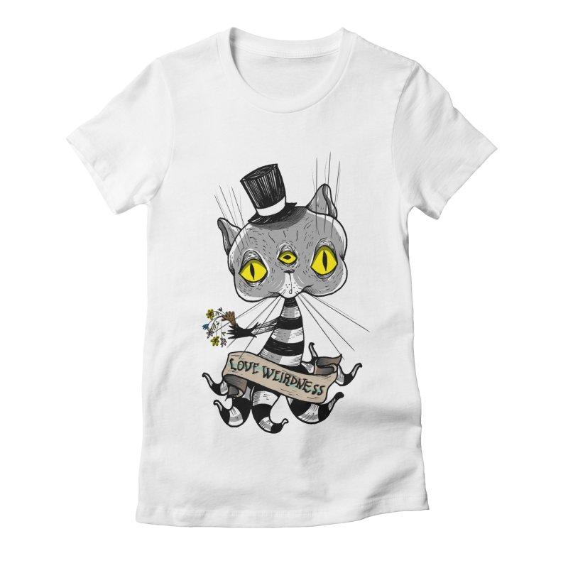 Love Weirdness Women's Fitted T-Shirt by Valentina Zummo