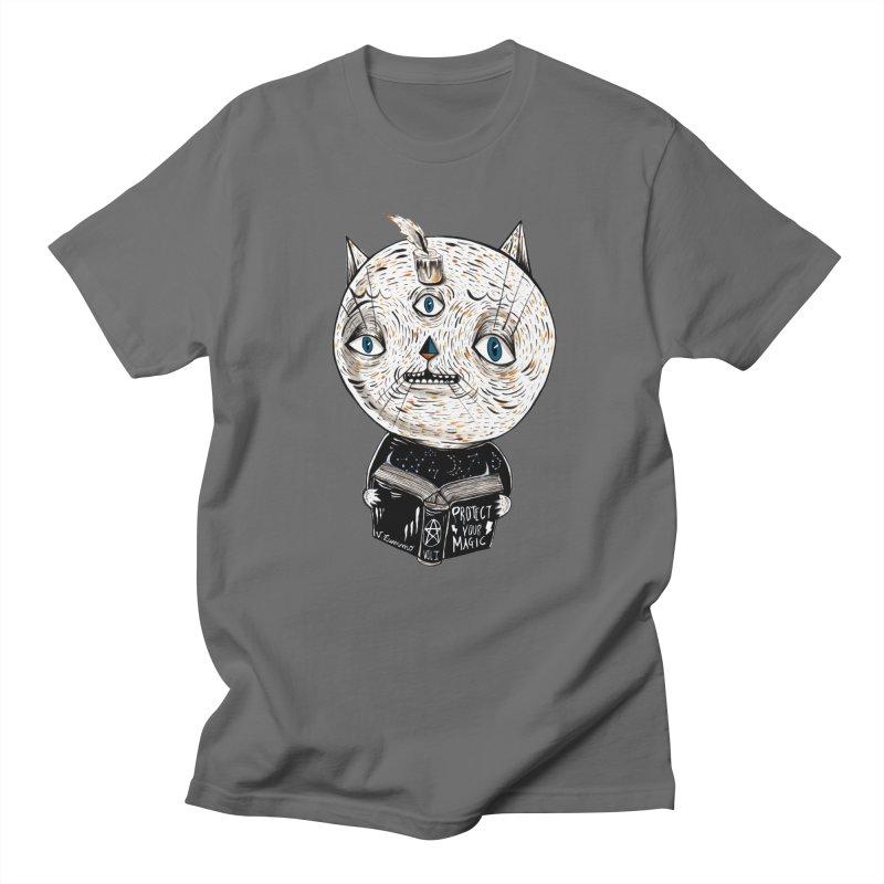 Magician cat Women's T-Shirt by Valentina Zummo