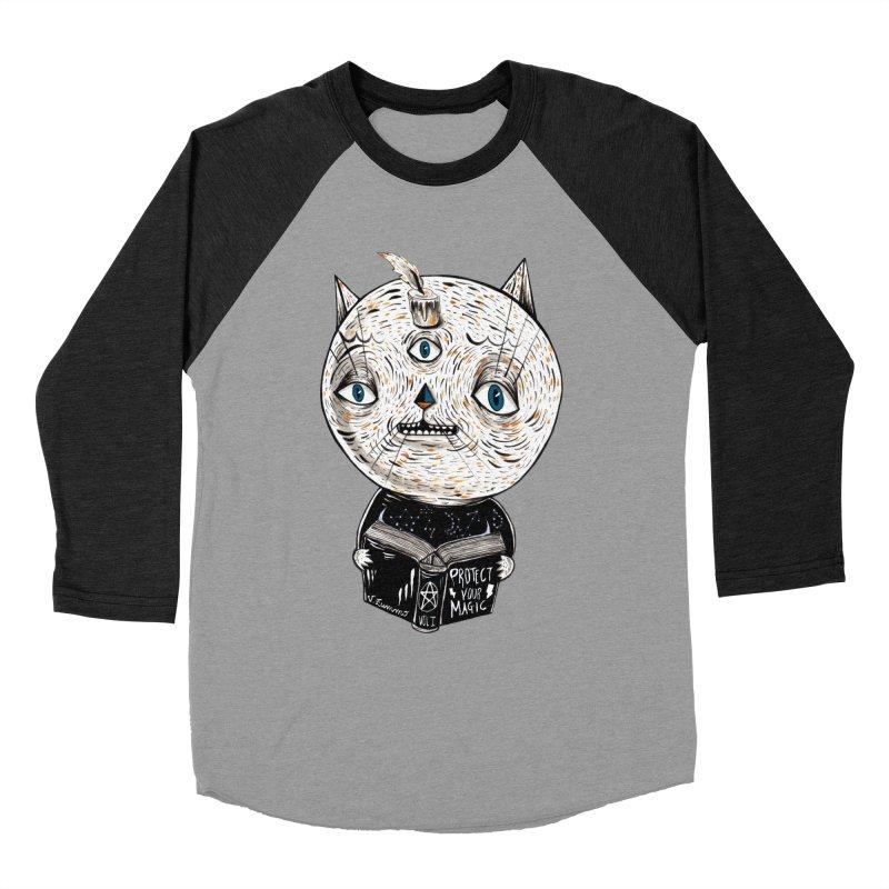 Magician cat Men's Longsleeve T-Shirt by Valentina Zummo