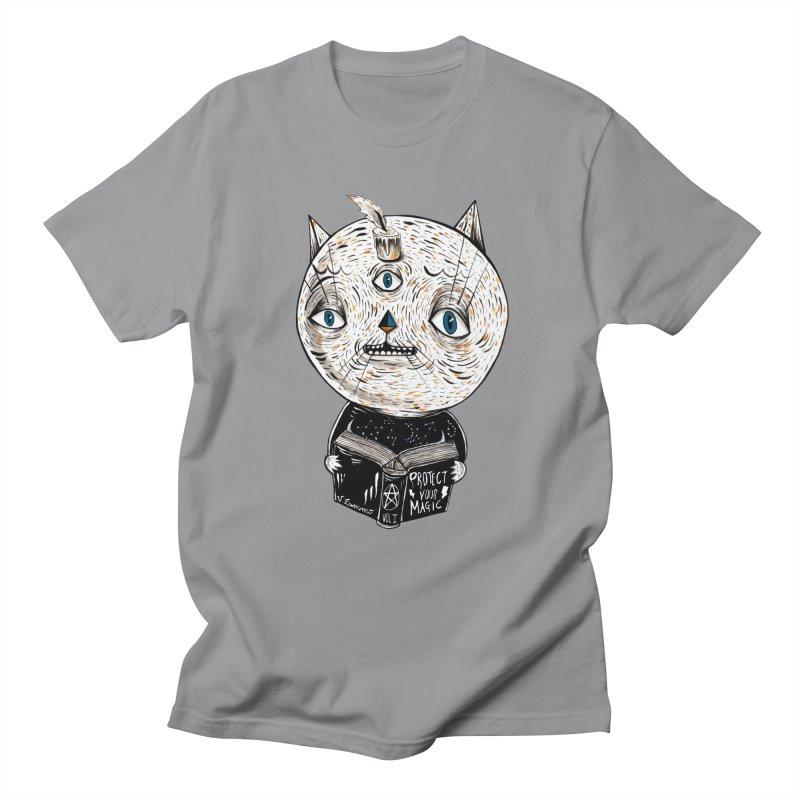 Magician cat Women's Regular Unisex T-Shirt by Valentina Zummo