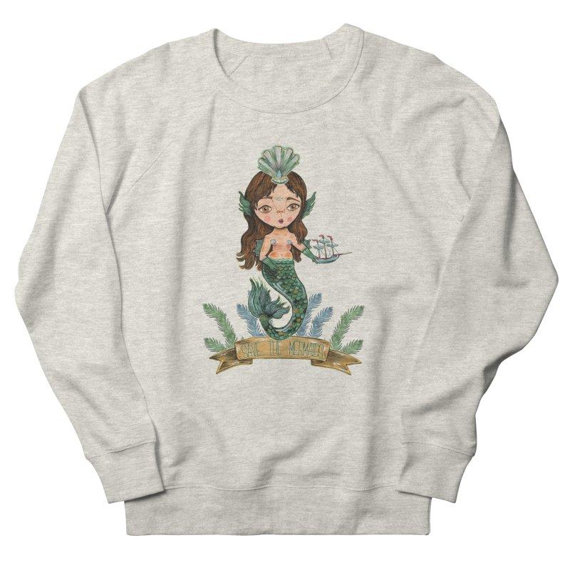 Save the Mermaid Women's Sweatshirt by Valentina Zummo