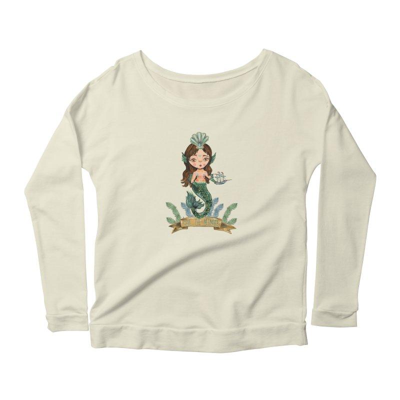 Save the Mermaid Women's Longsleeve T-Shirt by Valentina Zummo