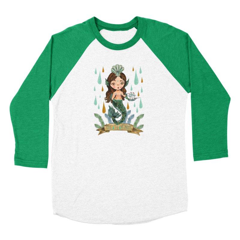Save the Mermaid Men's Longsleeve T-Shirt by Valentina Zummo