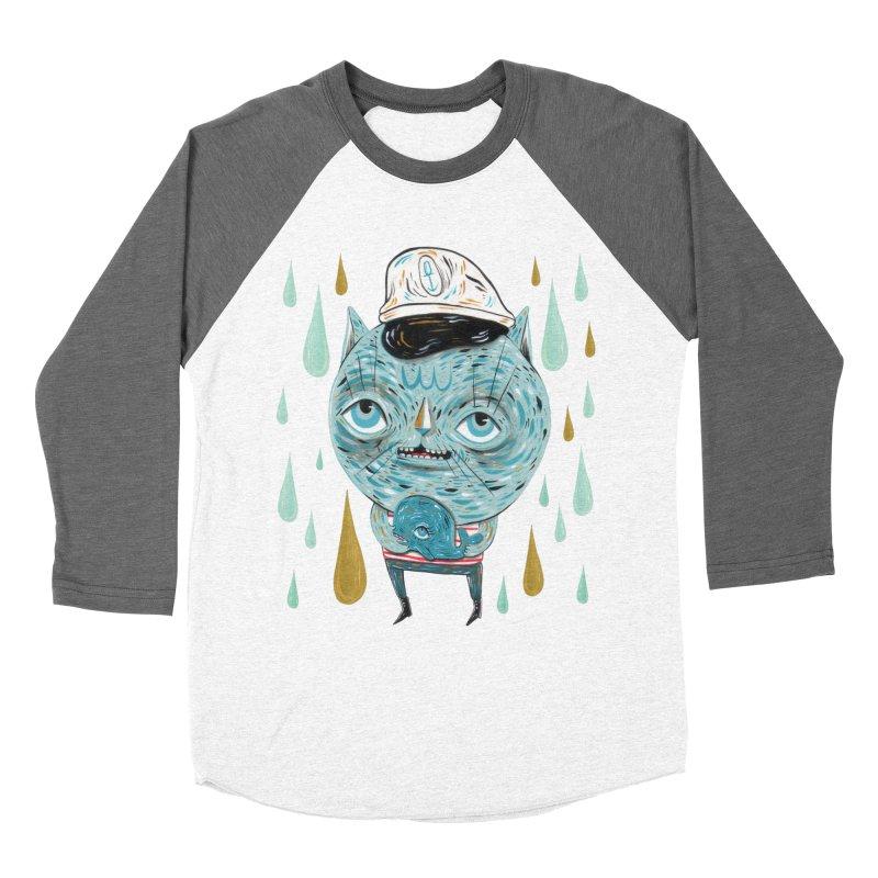 Sea CAt Women's Longsleeve T-Shirt by Valentina Zummo