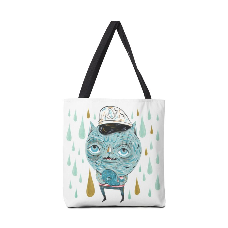 Sea CAt Accessories Tote Bag Bag by Valentina Zummo