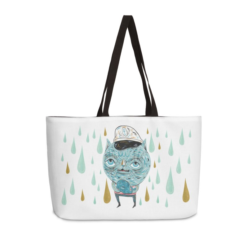 Sea CAt Accessories Weekender Bag Bag by Valentina Zummo