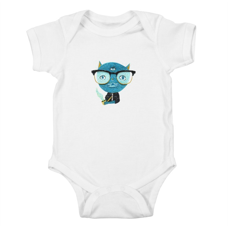 I can see for miles. Kids Baby Bodysuit by Valentina Zummo