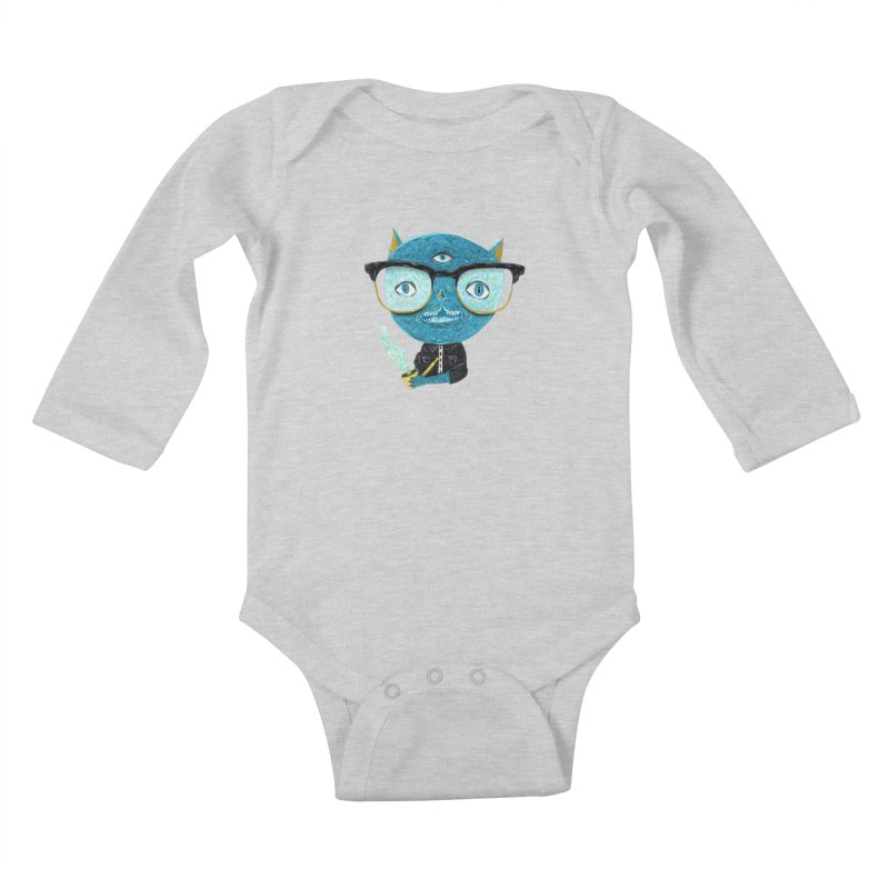 I can see for miles. Kids Baby Longsleeve Bodysuit by Valentina Zummo