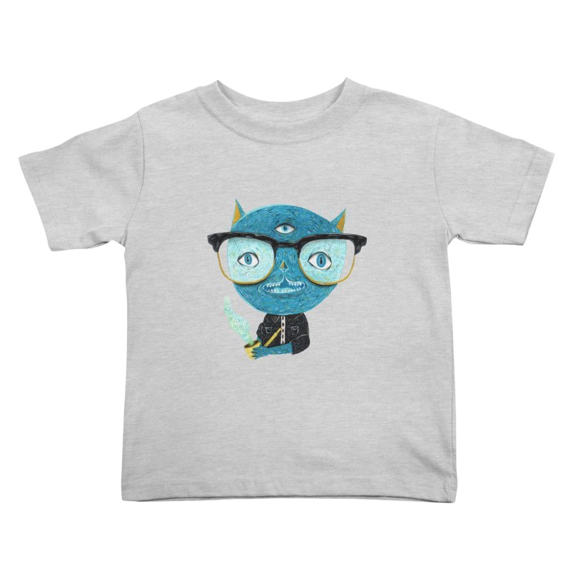 I can see for miles. Kids Toddler T-Shirt by Valentina Zummo