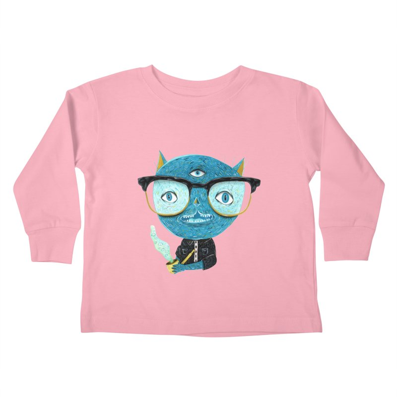 I can see for miles. Kids Toddler Longsleeve T-Shirt by Valentina Zummo