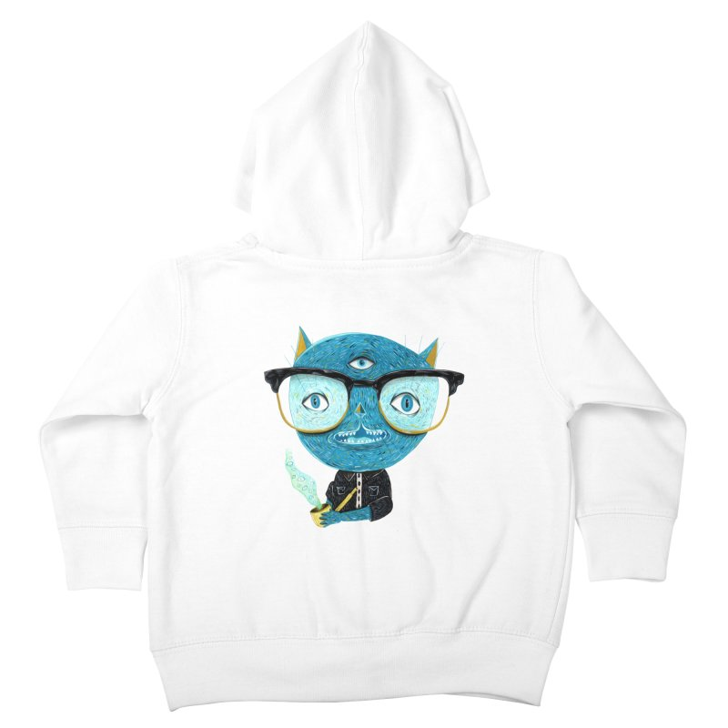 I can see for miles. Kids Toddler Zip-Up Hoody by Valentina Zummo