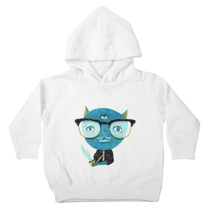 I can see for miles. Kids Toddler Pullover Hoody by Valentina Zummo