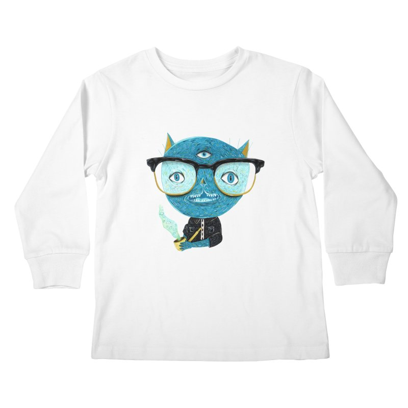 I can see for miles. Kids Longsleeve T-Shirt by Valentina Zummo