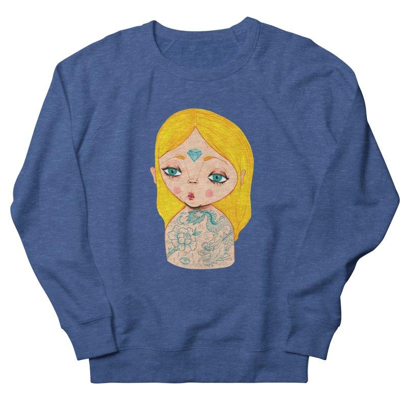 Tattooed girl Men's Sweatshirt by Valentina Zummo