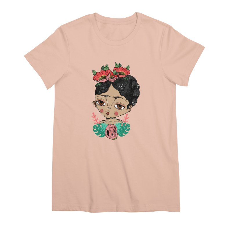 Viva Frida Women's Premium T-Shirt by Valentina Zummo