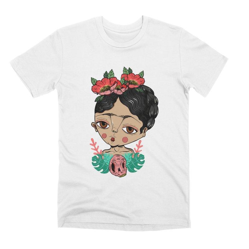 Viva Frida Men's Premium T-Shirt by Valentina Zummo