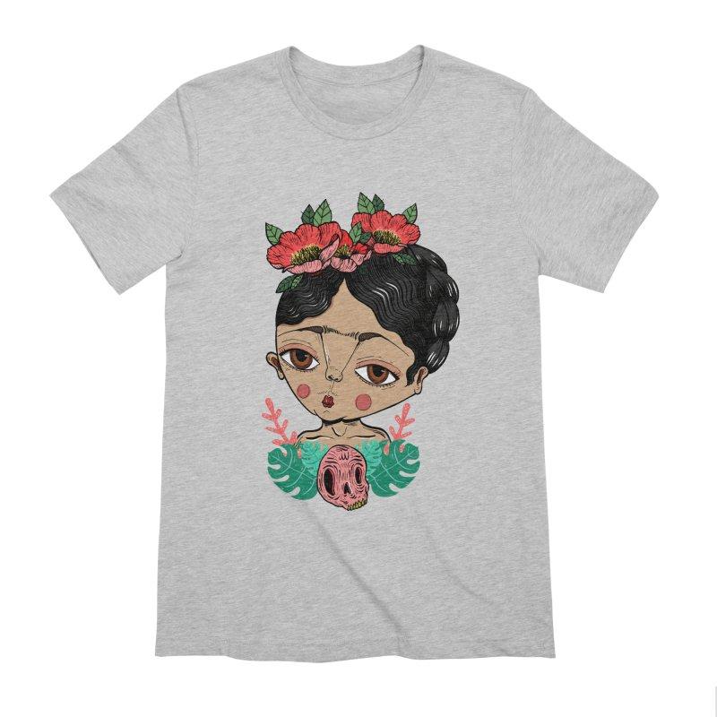 Viva Frida Men's Extra Soft T-Shirt by Valentina Zummo