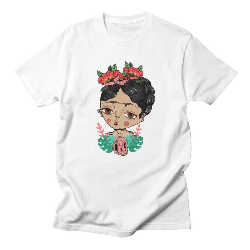Viva Frida Men's T-Shirt by Valentina Zummo
