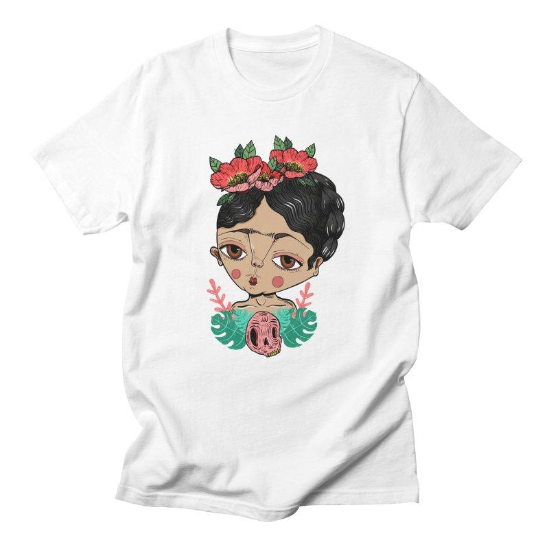 Viva Frida Women's Regular Unisex T-Shirt by Valentina Zummo