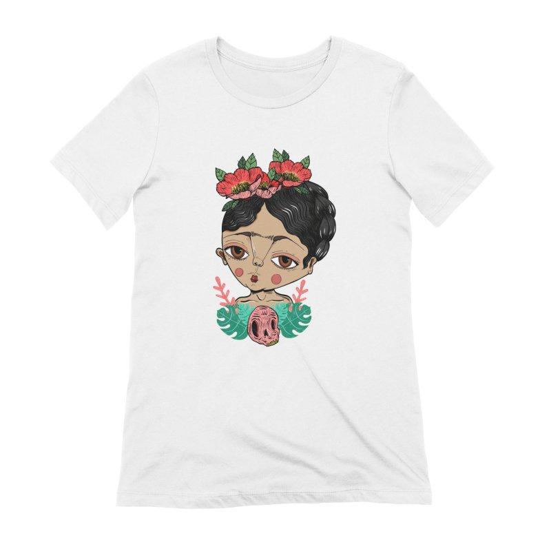 Viva Frida Women's T-Shirt by Valentina Zummo