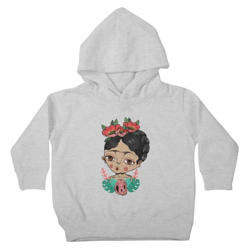 Viva Frida Kids Toddler Pullover Hoody by Valentina Zummo