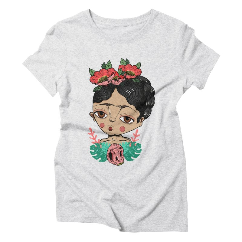 Viva Frida Women's Triblend T-Shirt by Valentina Zummo