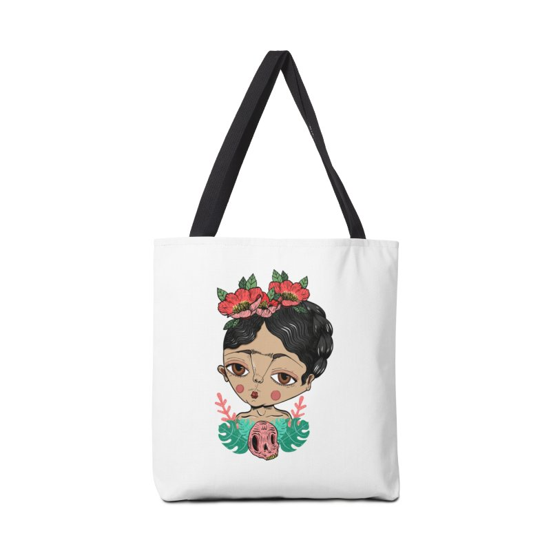 Viva Frida Accessories Tote Bag Bag by Valentina Zummo