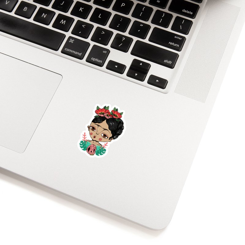 Viva Frida Accessories Sticker by Valentina Zummo