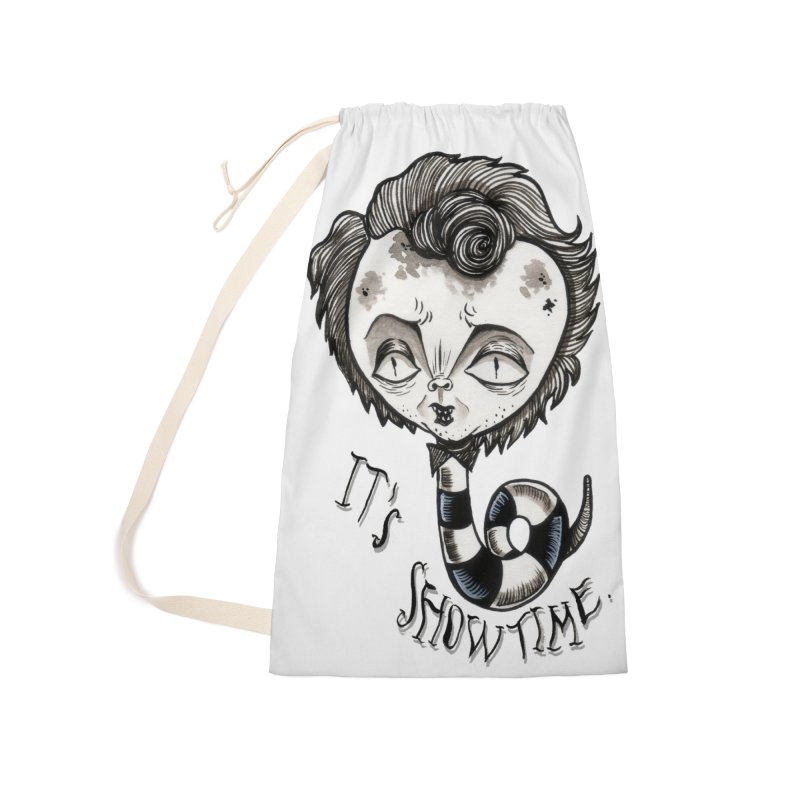 Beetlejuice - It's show time Accessories Laundry Bag Bag by Valentina Zummo