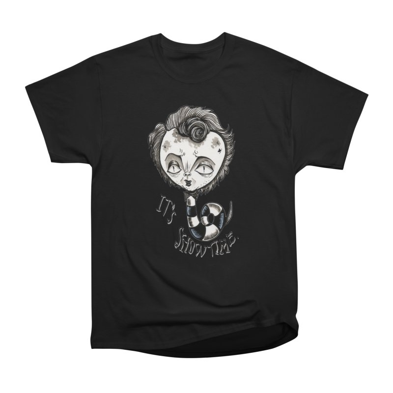 Beetlejuice - It's show time Men's Heavyweight T-Shirt by Valentina Zummo