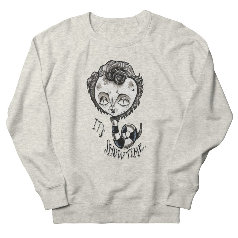 Beetlejuice - It's show time Women's French Terry Sweatshirt by Valentina Zummo