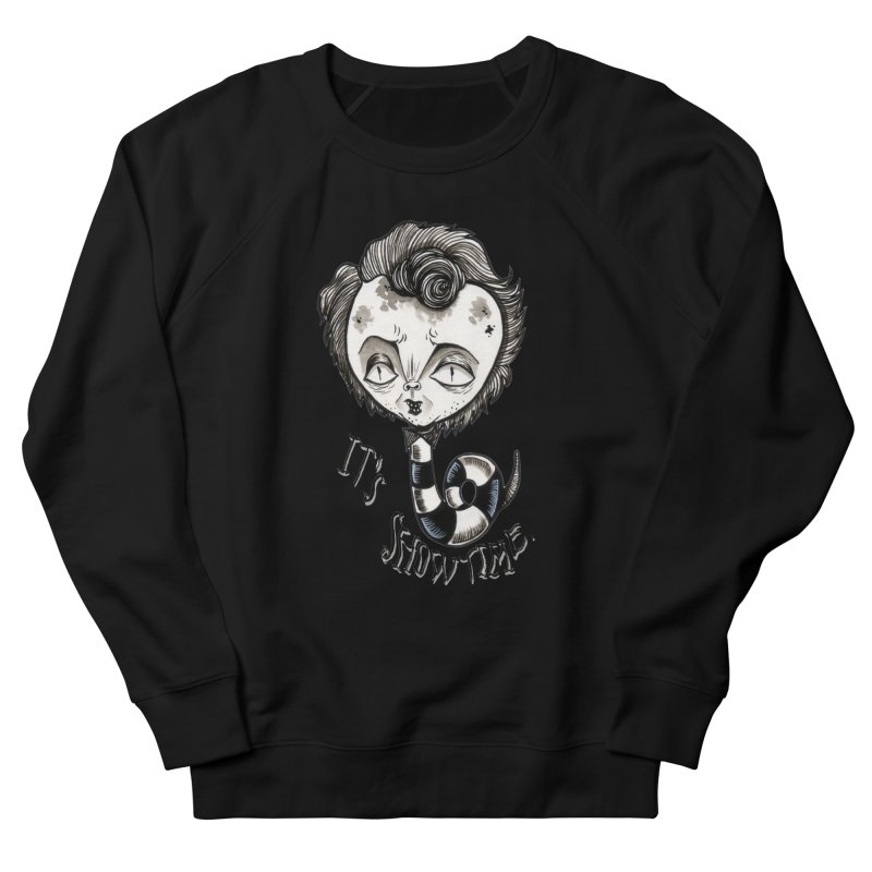Beetlejuice - It's show time Men's French Terry Sweatshirt by Valentina Zummo