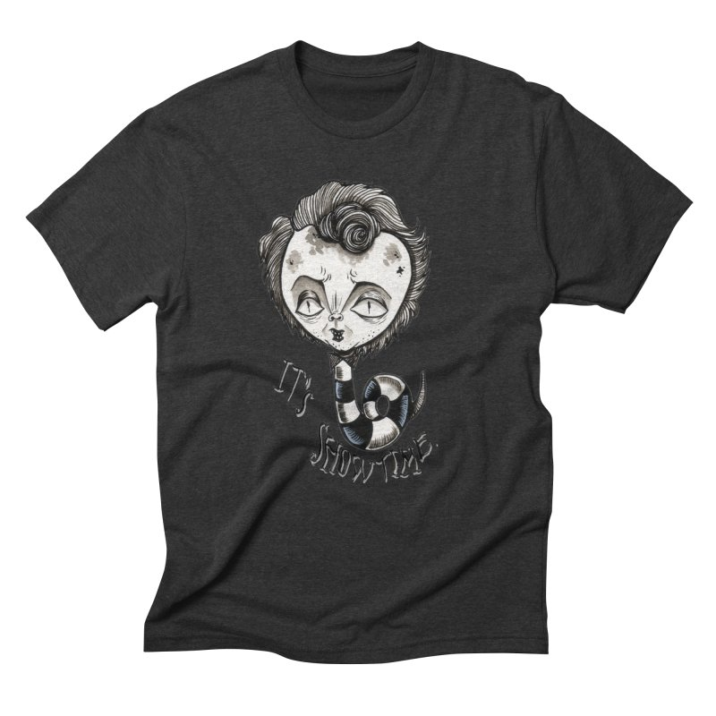 Beetlejuice - It's show time Men's Triblend T-Shirt by Valentina Zummo