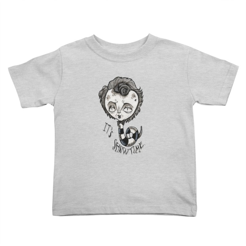 Beetlejuice - It's show time Kids Toddler T-Shirt by Valentina Zummo
