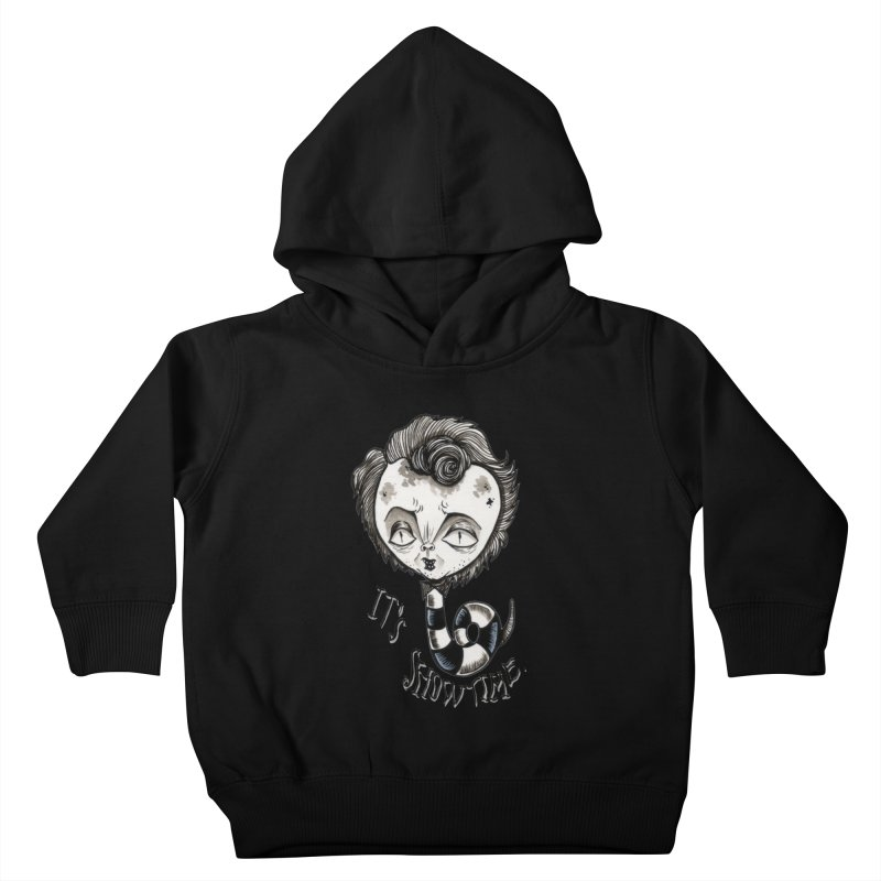 Beetlejuice - It's show time Kids Toddler Pullover Hoody by Valentina Zummo