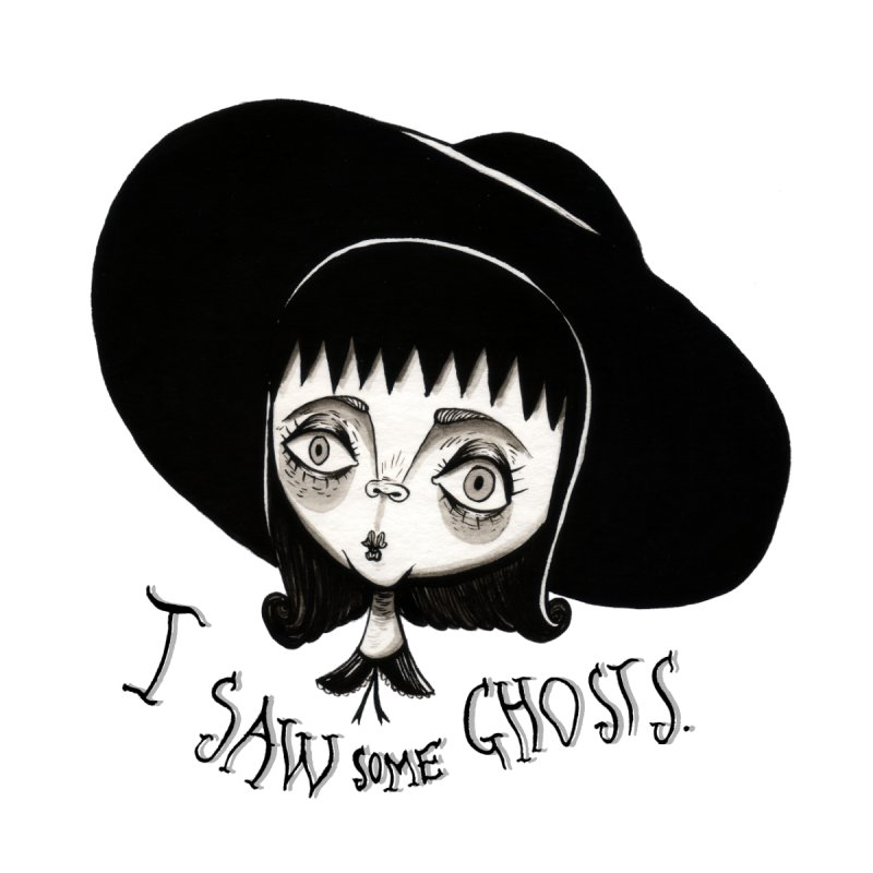 Lydia Deetz Men's T-Shirt by Valentina Zummo