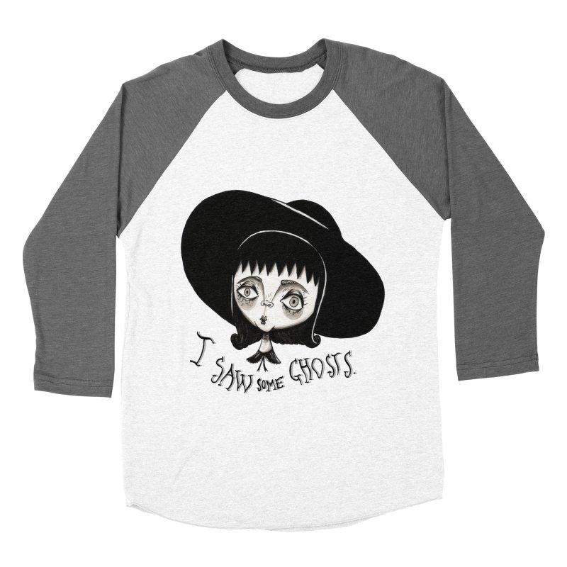 Lydia Deetz Women's Baseball Triblend Longsleeve T-Shirt by Valentina Zummo