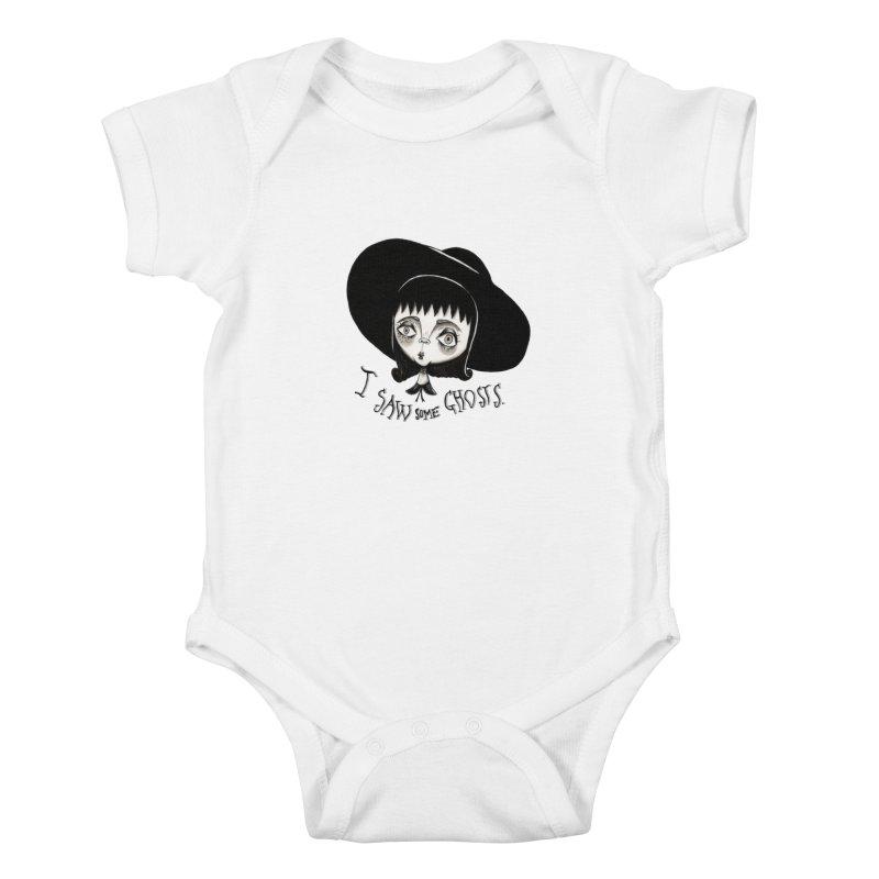 Lydia Deetz Kids Baby Bodysuit by Valentina Zummo