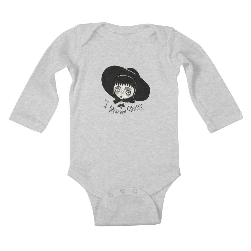 Lydia Deetz Kids Baby Longsleeve Bodysuit by Valentina Zummo