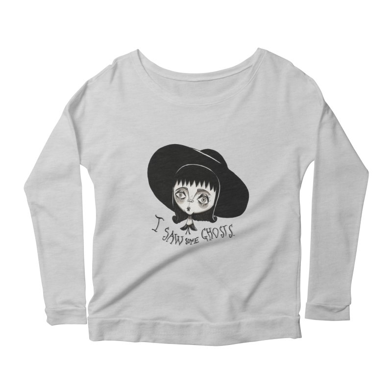 Lydia Deetz Women's Scoop Neck Longsleeve T-Shirt by Valentina Zummo