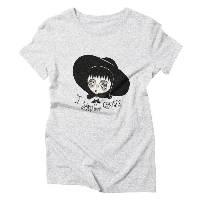 Lydia Deetz Women's Triblend T-Shirt by Valentina Zummo