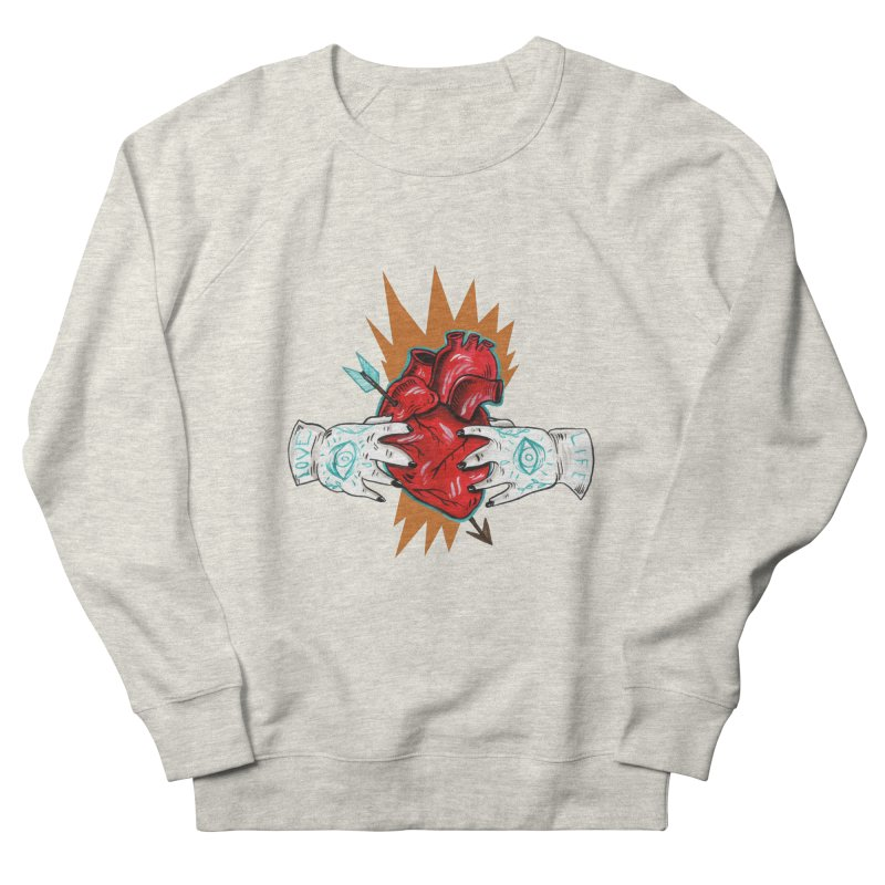 My Heart Men's Sweatshirt by Valentina Zummo