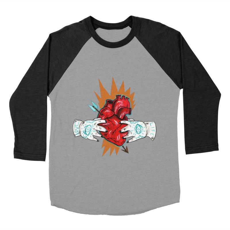 My Heart Men's Longsleeve T-Shirt by Valentina Zummo